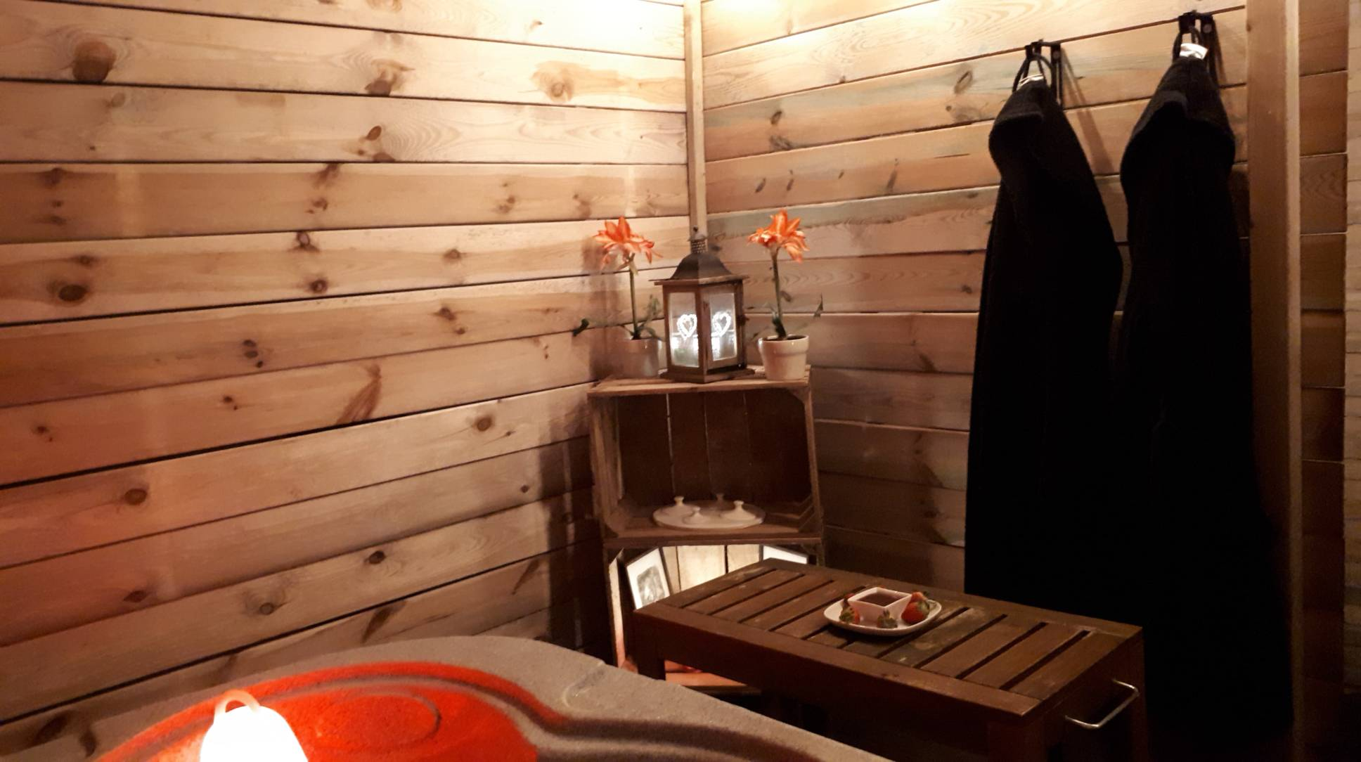Sauna Privatif Atrium avec massage
